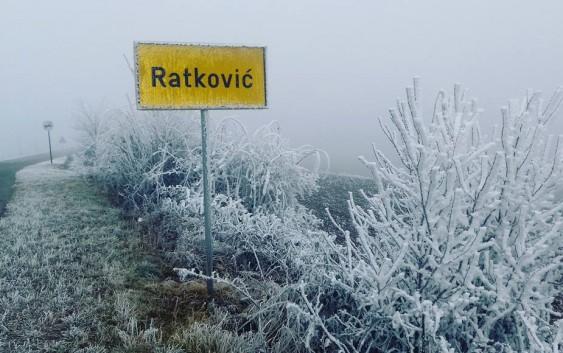 Ratković – inje, stud i magla