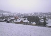 U Levču sneg za Novu godinu