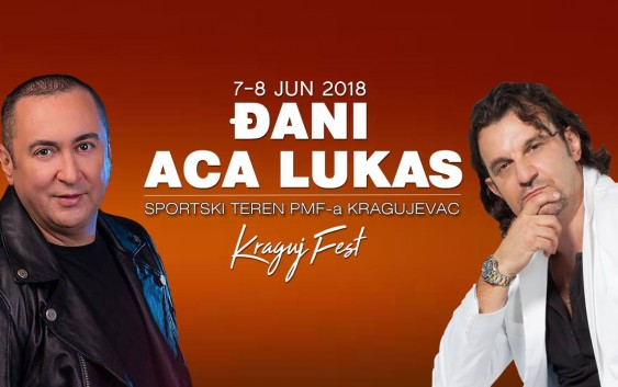Aca Lukas i Đani na Kraguj Fest-u