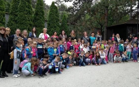 Predškolci iz Rekovca posetili zoovrt u Jagodini