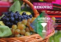 """Dobrodošli na """"Levački vino-fest"""""""