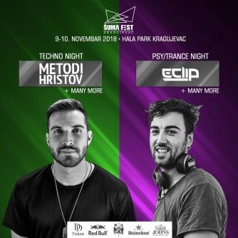 Šumadija Fest 2018 – 9. i 10. novembar Hala Park Kragujevac