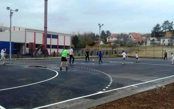 Rekonstrukcija igrališta za mali fudbal